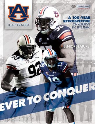 Auburn Football Program Cover