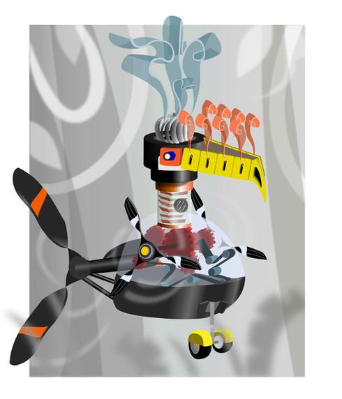 Robot Toucan