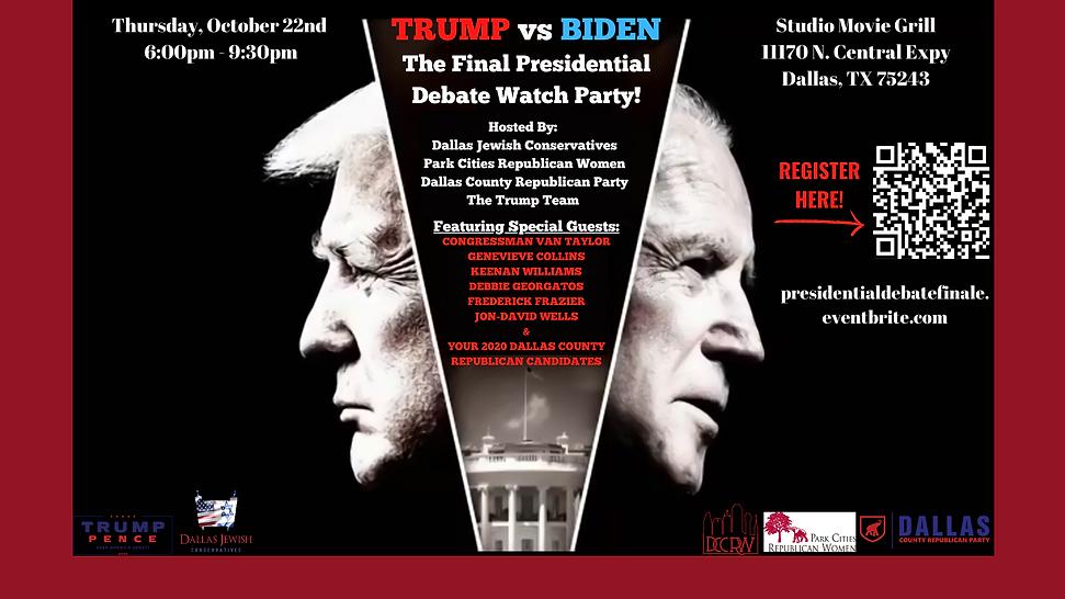 Trump vs Biden Debate Watch Party Final