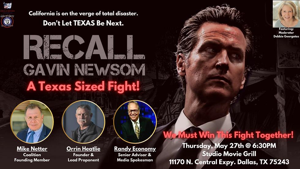 Recall Newsom - A Texas Sized Fight Fina