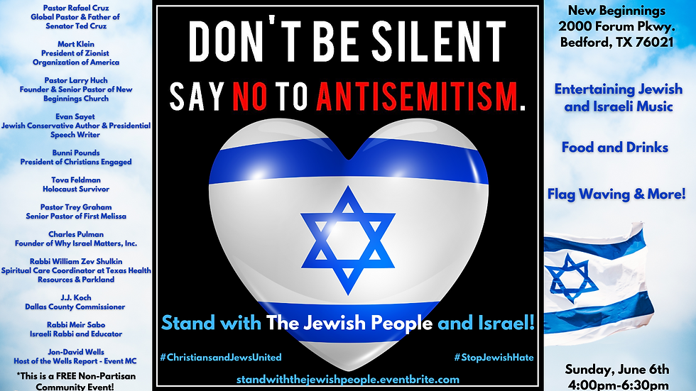 Stand with Israel and The Jewish People