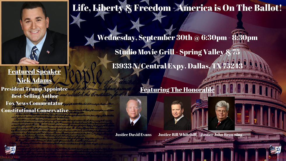 Life, Liberty & Freedom - America is On