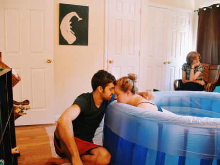 How my dreamy home birth actually turned out to be the hardest thing I've ever done