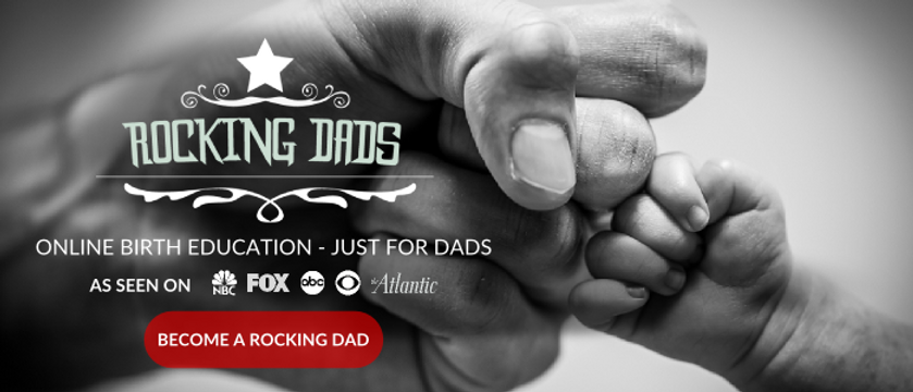 Rocking Dads is a course to help fathers understand pregnancy, stages of labor, and more!
