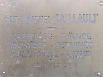 Caillault cnstuction, anciennement l'entreprise Michel Caillalt