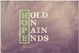 Hold on Pain Ends