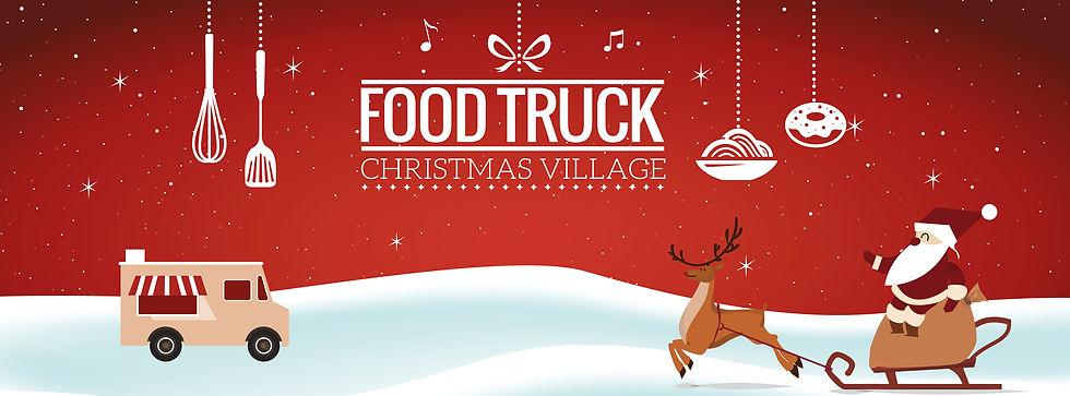 Food Truck Christmas Village