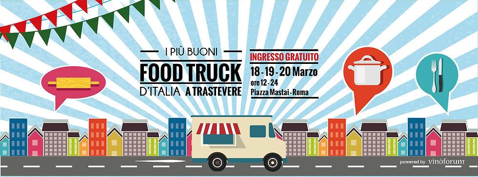 I più buoni Food Truck Fest d'Italia a Trstevere
