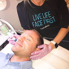 Need a gift for dad_ Hydrafacial, of cou