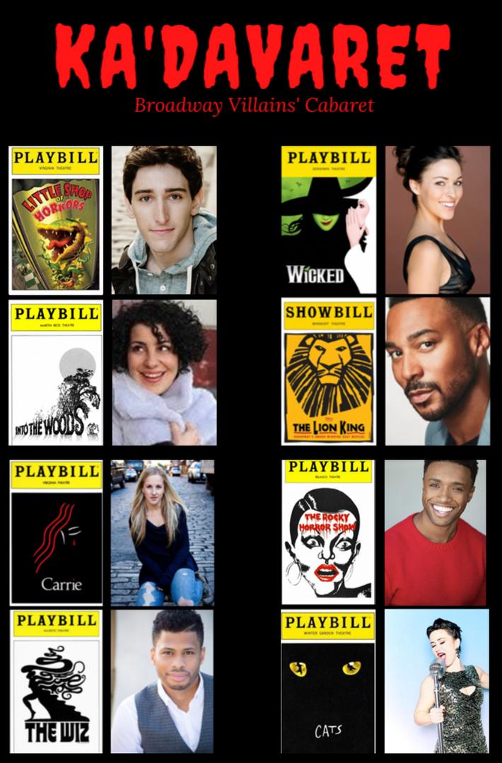 Ka'Davaret: Broadway Villains' Cabaret