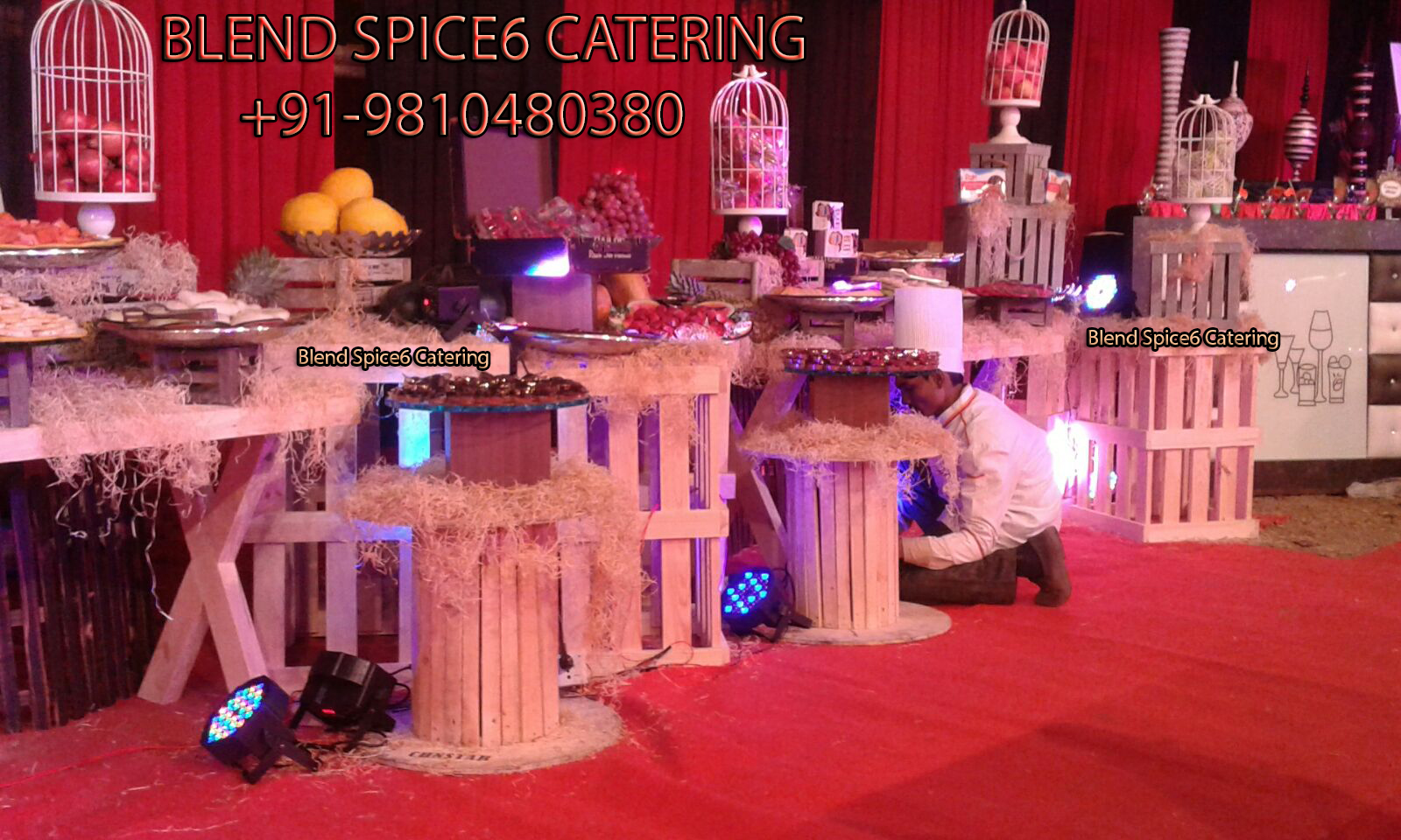 corporate event party caterer services