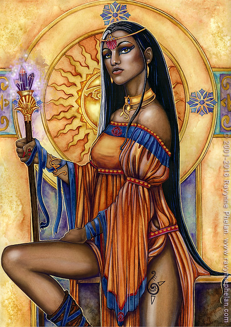 First Queen of Atlantis
