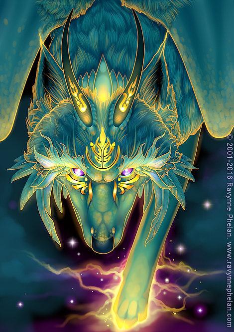 Storm Dragon Limited Edition Print