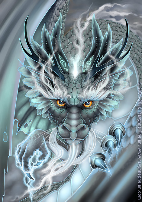 Storm Dragon Limited Edition Print