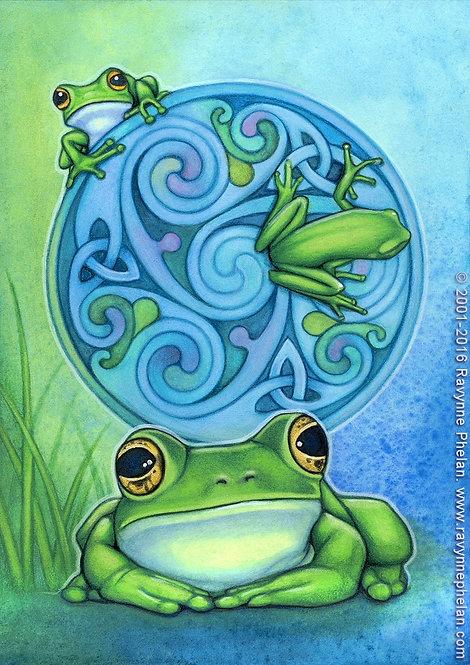 Frog's Healing
