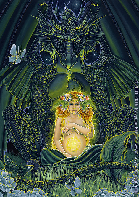 Gaia's Dragon