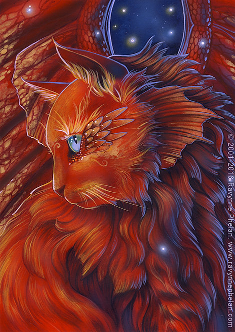 The Red Dragon Cat