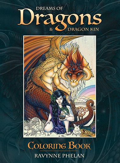 Dreams of Dragons and Dragon Kin Colouring Book