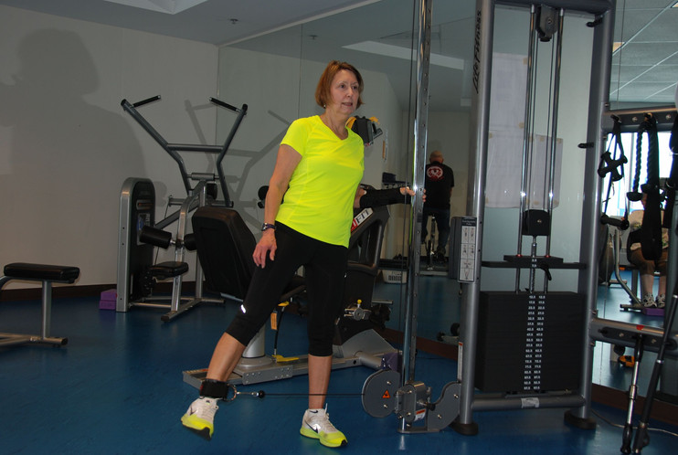 Fitness Centre cable machine