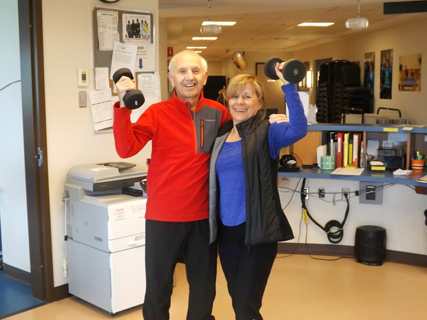 Doug at the Fitness Centre