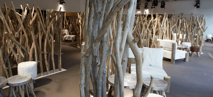Café Bleu Nature intérieur