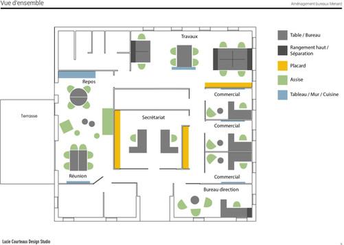Plan de l'aménagement