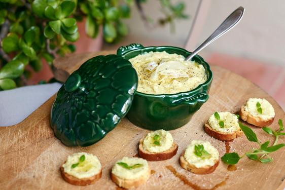 Cocotte artichaut céramique
