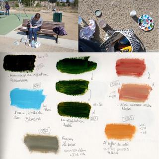 Echantillonnage des couleurs