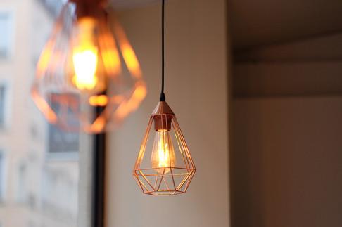 Luminaires vitrine