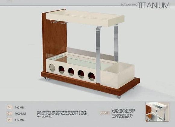 Bar carrinho Titanium