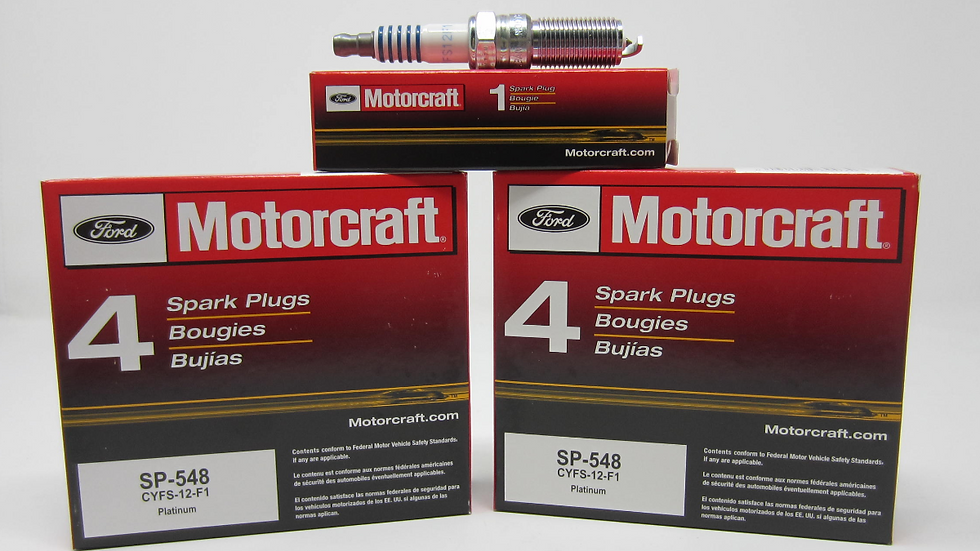 MOTORCRAFT SPARK PLUGS SP-548 (8)