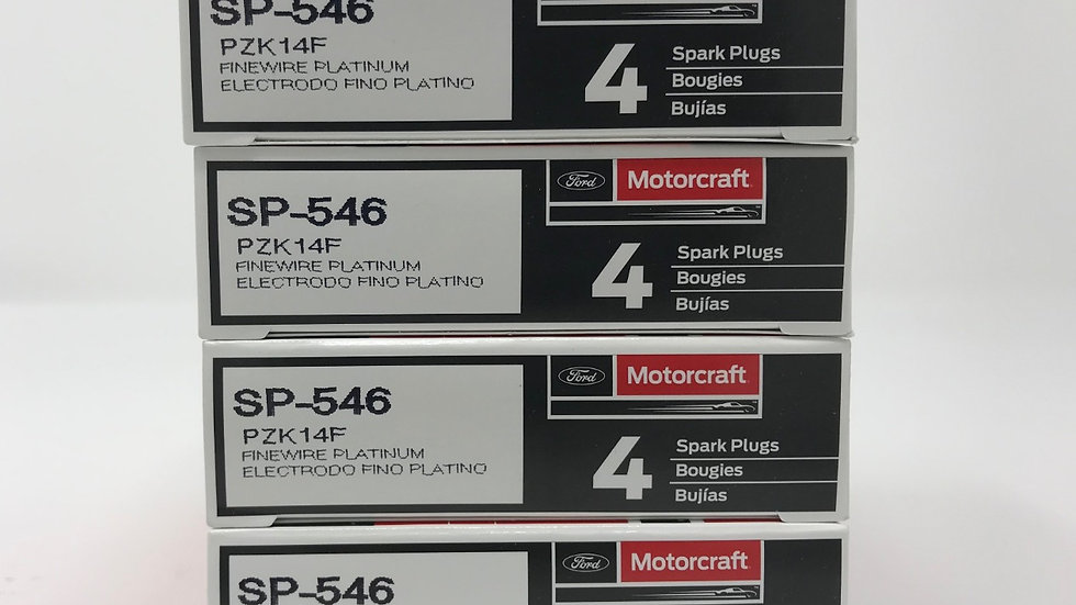 NEW MOTORCRAFT SPARK PLUGS SP-546/SP-515 (8)