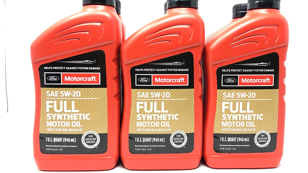 MOTORCRAFT SAE-5W20 FULL SYNTHETIC OIL