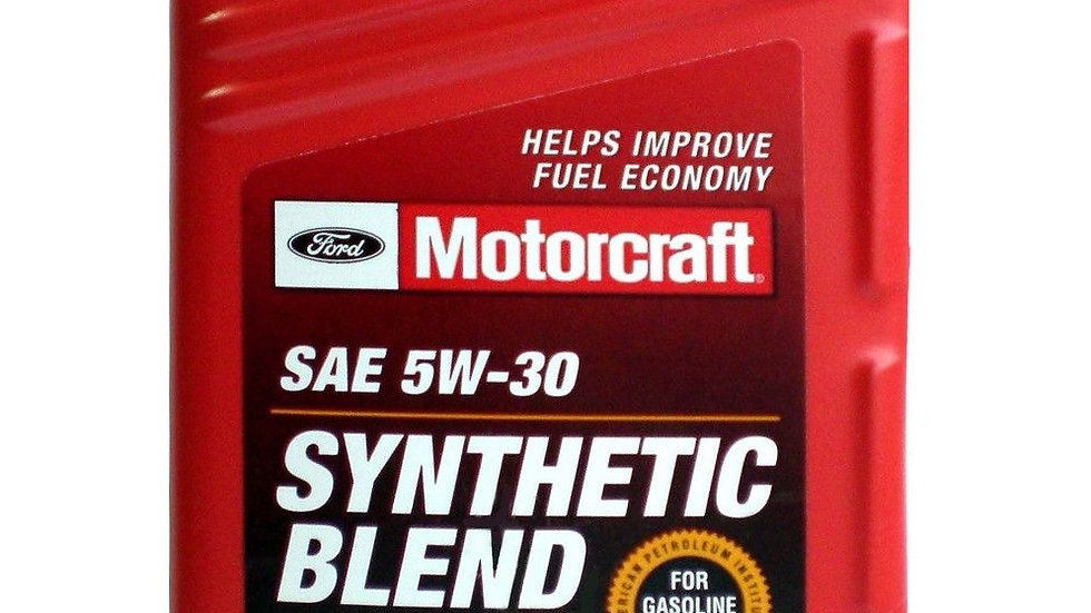 MOTORCRAFT SAE-5W30 SYNTHETIC BLEND OIL