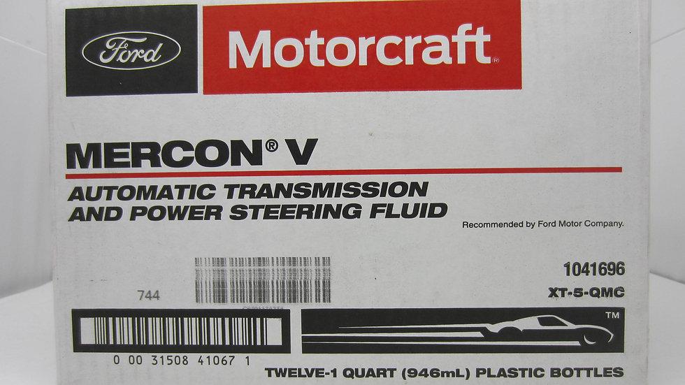 MOTORCRAFT TRANSMISSION  FLUID MERCON V