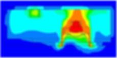 Simulazione termica fluidodinamica CFD sistema illuminazione LED
