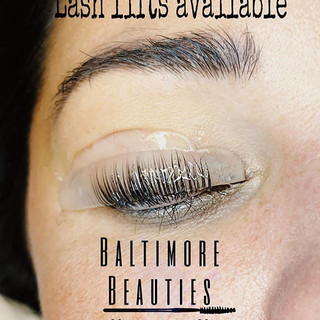 Lash lifting will curl your straight las
