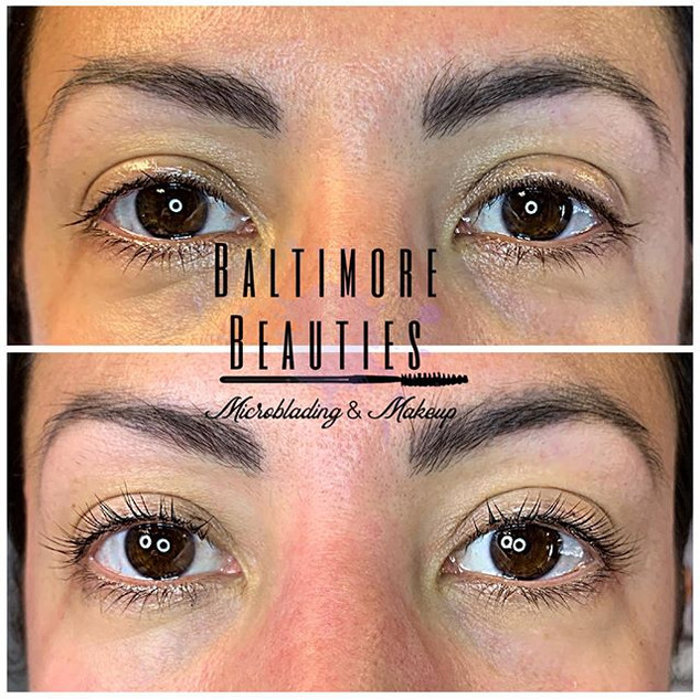Lash lift and tint $100 ••••••••••••••••