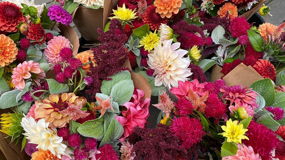The Short, Late Summer Bouquet CSA