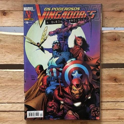 Os poderosos vingadores: a queda prólogo nº20 - Marvel