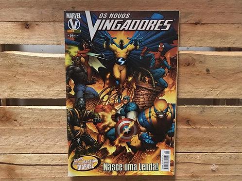 Os novos vingadores nº25: Nasce uma lenda  - Marvel