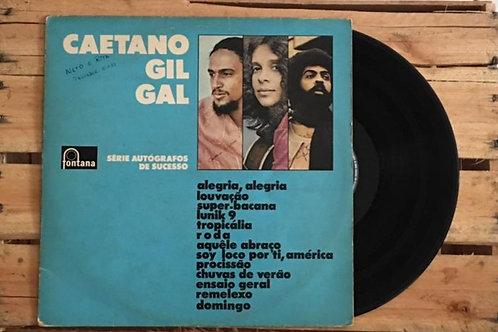 Caetano Gil Gal - Série Autógrafos de Sucesso [LP]