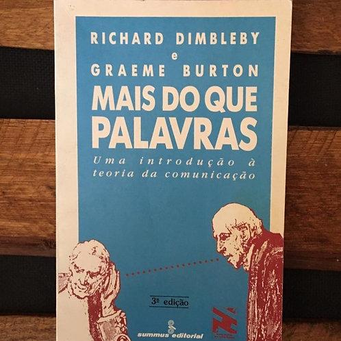 Mais do que palavras - Richard Dimbleby e G. Burton