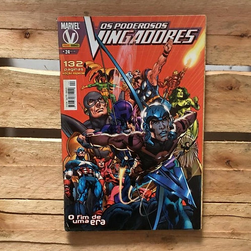 Os poderosos vingadores: o fim de uma era nº24 - Marvel