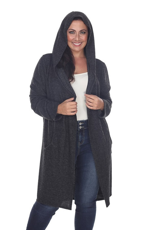 Black Plus Size Cardigan