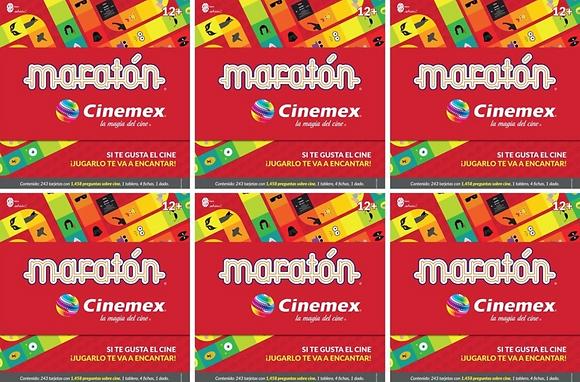Maratón Cinemex (caja de 6 piezas)