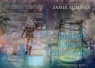 Cover Reveal: Broken Jar of Memories by Jamie Summer