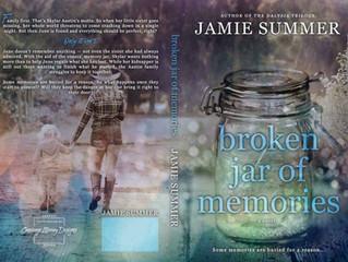 Cover Reveal: Broken Jar of Memories by Jamie Summer