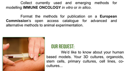Are you a RESEARCHER in IMMUNE ONCOLOGY?
