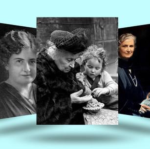 Maria Montessori en spel